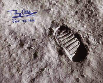 El hombre llegó a la Luna