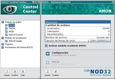 Antivirus NOD 32: Maxima seguridad y facilidad unidos