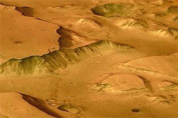 La fuente de la vida en... ¡Marte!